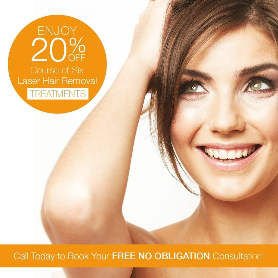 Laser hair removal special offer 35 percent