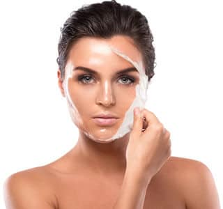 effective exfoliation system with intensive fruit acid peel treatment